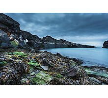Seaweed and rocks - The Blue Lagoon Photographic Print