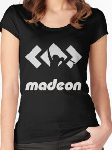MADEON SILHOUETTE Women's Fitted Scoop T-Shirt