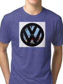 Volkswagen on the Beach Tri-blend T-Shirt
