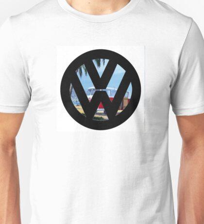 Volkswagen on the Beach Unisex T-Shirt