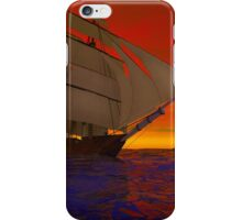 Sailing into the Sunset iPhone Case/Skin