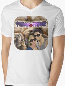 Prank Vs Prank - PvP Shirts #TeamJeana #TeamJesse Mens V-Neck T-Shirt