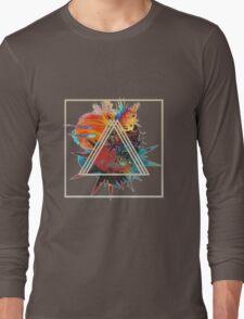 tri-triangle Long Sleeve T-Shirt