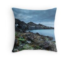 Seaweed and rocks - The Blue Lagoon Throw Pillow