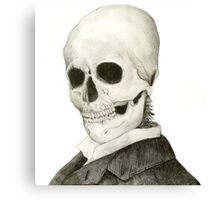 Tesla Skeleton Canvas Print