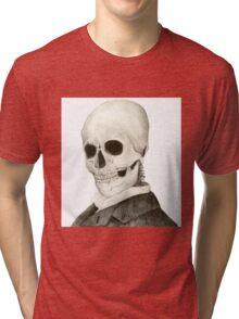 Tesla Skeleton Tri-blend T-Shirt