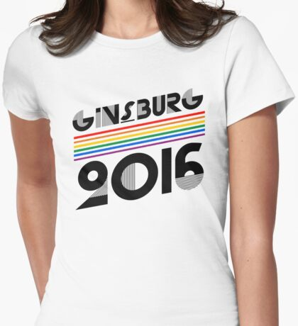 Ginsburg 2016 Womens Fitted T-Shirt