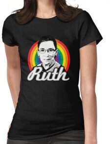 Rainbow Ruth Womens Fitted T-Shirt