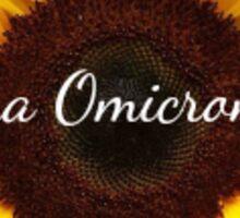 AOII Sunflower Sticker