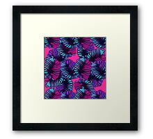floral abstract. Framed Print