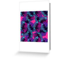 floral abstract. Greeting Card