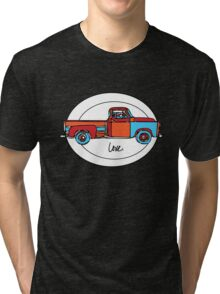 Love My Old Truck Tri-blend T-Shirt