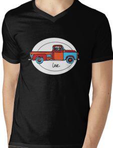 Love My Old Truck Mens V-Neck T-Shirt