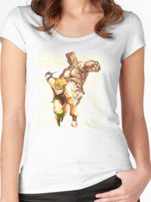 DIO Brando - JoJo's Bizarre Adventure Women's Fitted Scoop T-Shirt