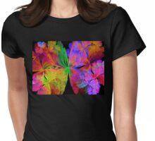 Shadows of Butterflies Womens Fitted T-Shirt