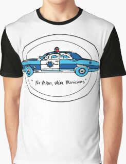 No Mam, We're Musicians Graphic T-Shirt