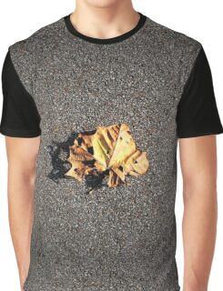 Leaf Closeup Graphic T-Shirt