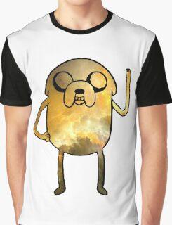 Jake The Dog - Galaxy Edition Graphic T-Shirt