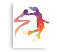 Player 01 Canvas Print