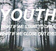 YOUTH - Troye Sivan  Sticker