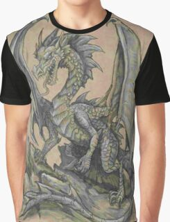 Awesome Dragon Drawing  Graphic T-Shirt