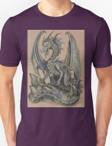 Awesome Dragon Drawing  T-Shirt
