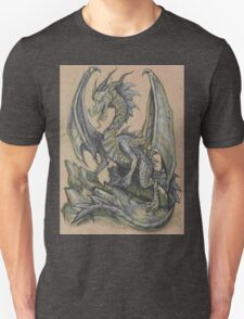 Awesome Dragon Drawing  Unisex T-Shirt