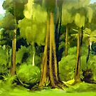 Forest Edge by Patricia Howitt