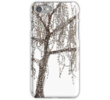 Winter willow tree iPhone Case/Skin