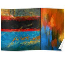 Color Abstraction LI  Poster