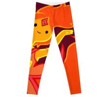 Feel My Flames, Puny Worms! Leggings