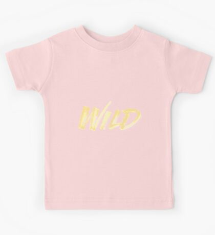 WILD - Troye Sivan Kids Tee