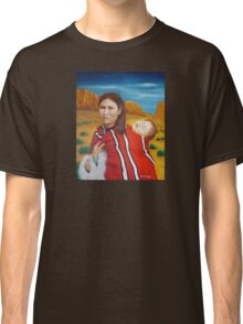 Navajo Woman with Child Classic T-Shirt