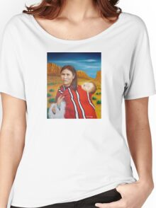 Navajo Woman with Child Women's Relaxed Fit T-Shirt