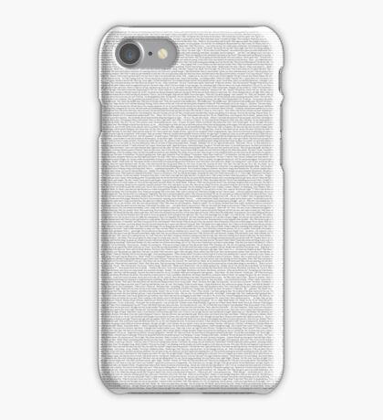 The Shrek Script iPhone Case/Skin