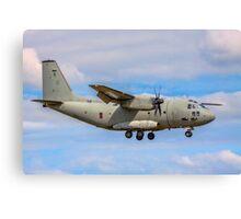 Alenia C-27J Spartan MM62215 46-80 Canvas Print