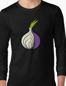 TOR Logo HD Long Sleeve T-Shirt