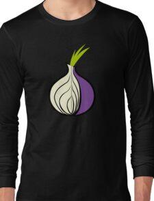 TOR Logo HD Long Sleeve T-Shirt