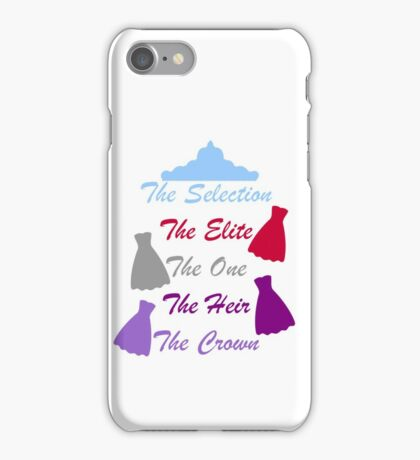The Selection Titles iPhone Case/Skin