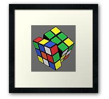 Rubik,s Cube  Framed Print