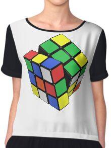 Rubik,s Cube  Chiffon Top