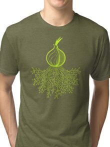 Tor Circuit Design Tri-blend T-Shirt