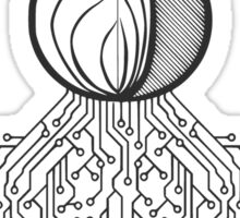 Tor Circuit Design Sticker