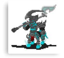 Pixel Hecarim Canvas Print