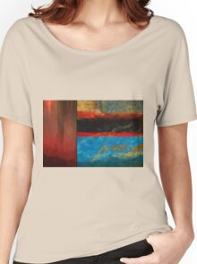 Color Abstraction LXI Women's Relaxed Fit T-Shirt
