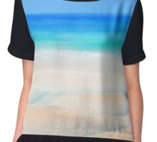 waves and shells Chiffon Top