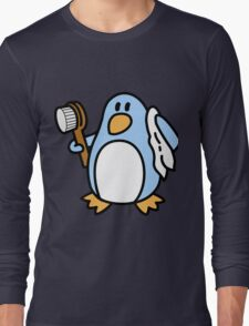 Freedo - The Freedom Penguin Long Sleeve T-Shirt