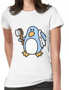 Freedo - The Freedom Penguin Womens Fitted T-Shirt
