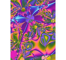Psychedelic Gardening Photographic Print