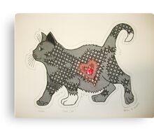 Cool Cat.... Canvas Print